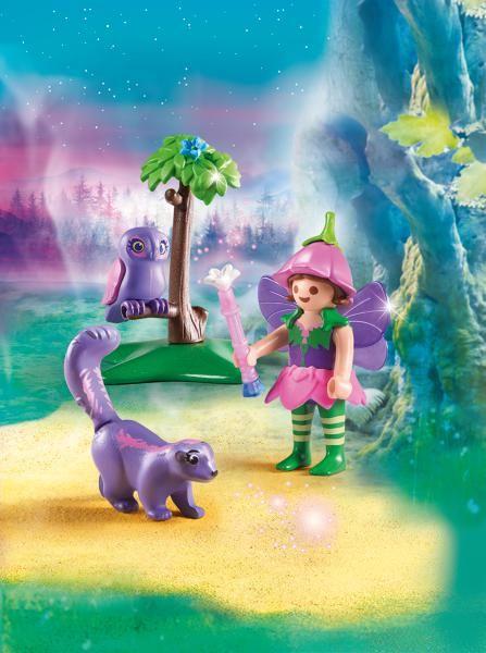 Zana cu animale prietenoase playmobil fairies - 2