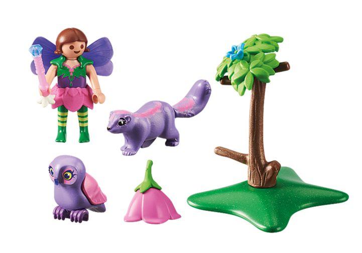 Zana cu animale prietenoase playmobil fairies - 1