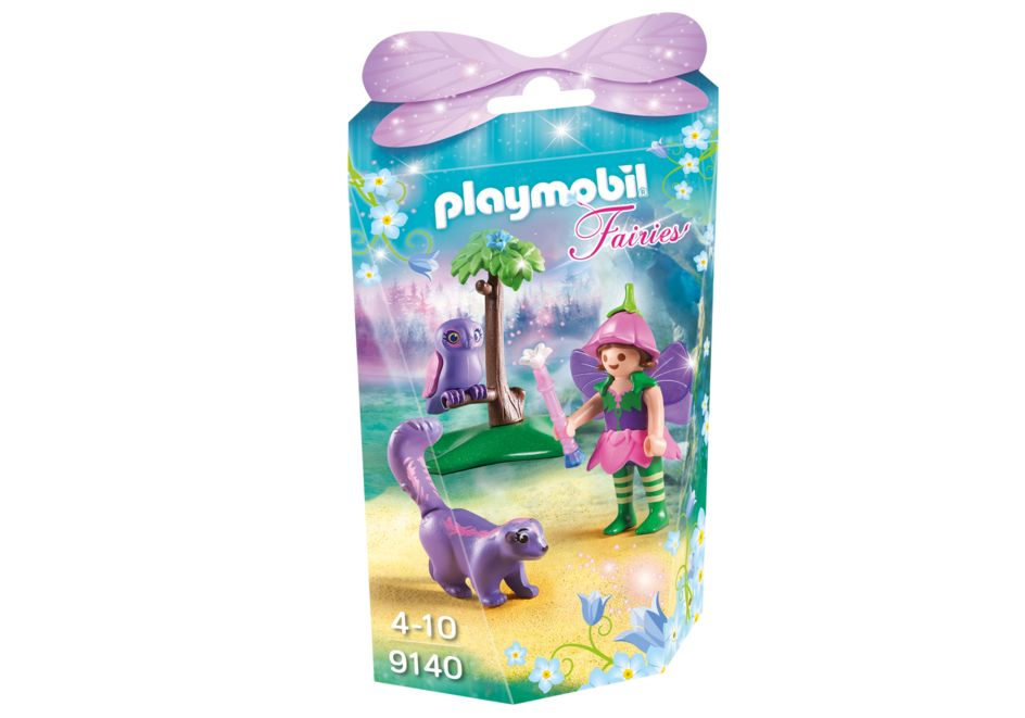 Zana cu animale prietenoase playmobil fairies