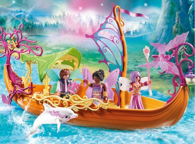Barca magica cu zane playmobil fairies - 1
