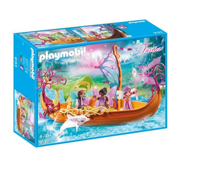 Barca magica cu zane playmobil fairies