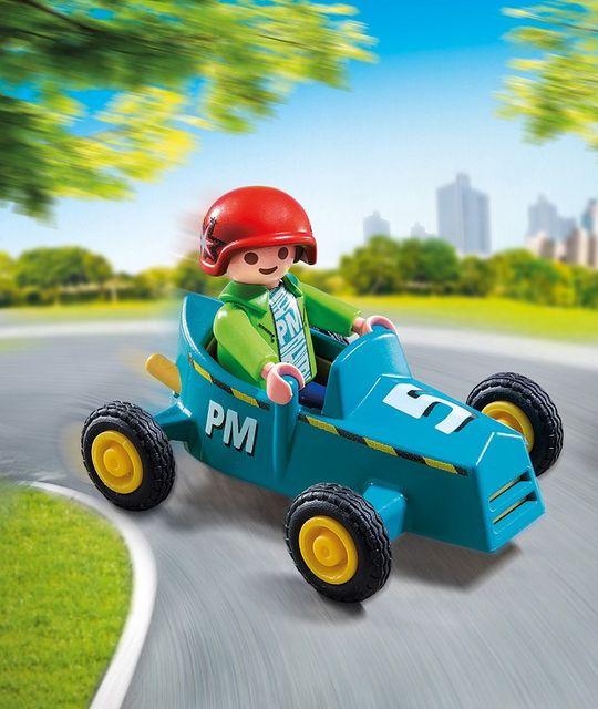 Baietel cu cart playmobil - 1