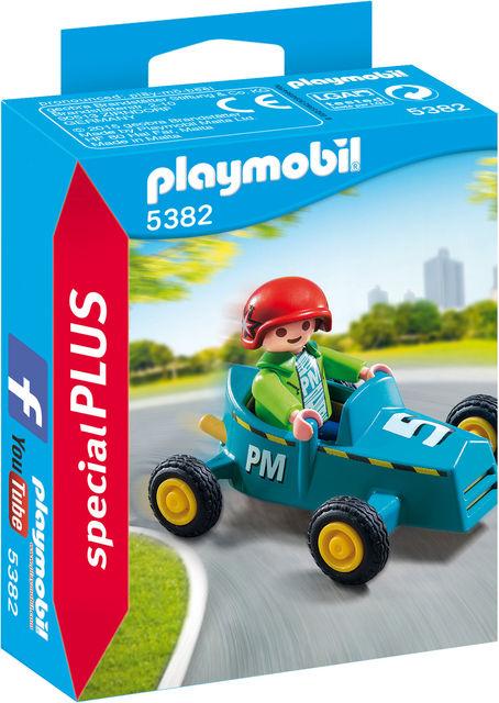 Baietel cu cart playmobil