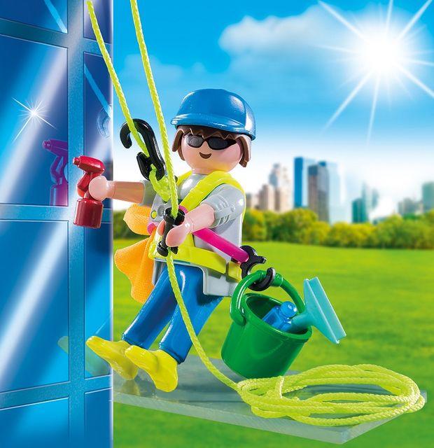 Curatator de geamuri playmobil - 1