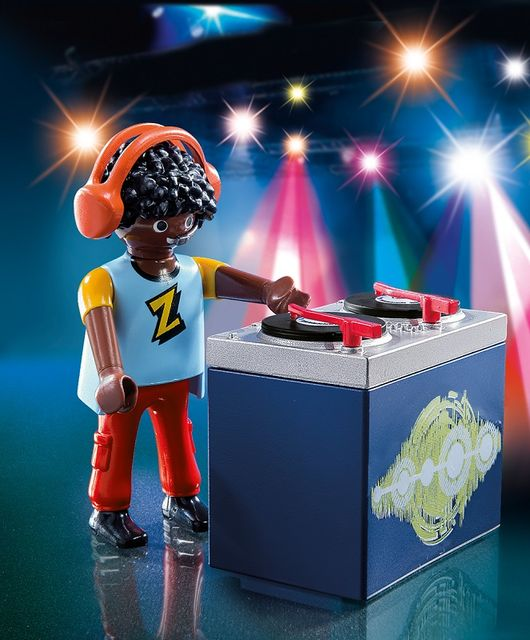 Figurina dj-ul playmobil - 1