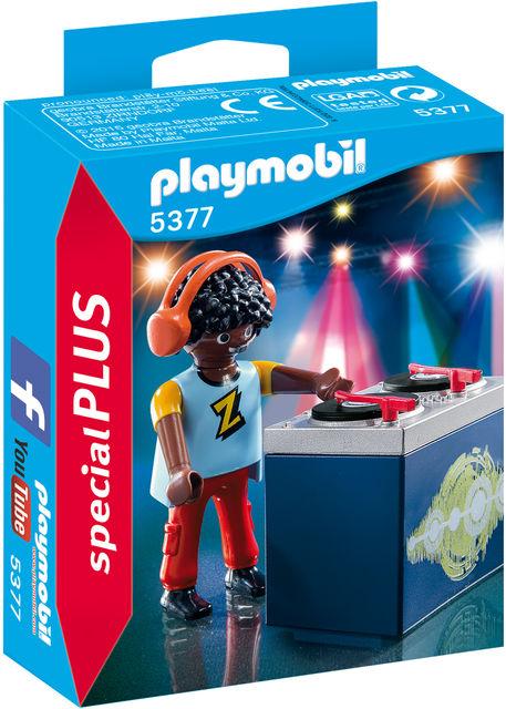 Figurina dj-ul playmobil