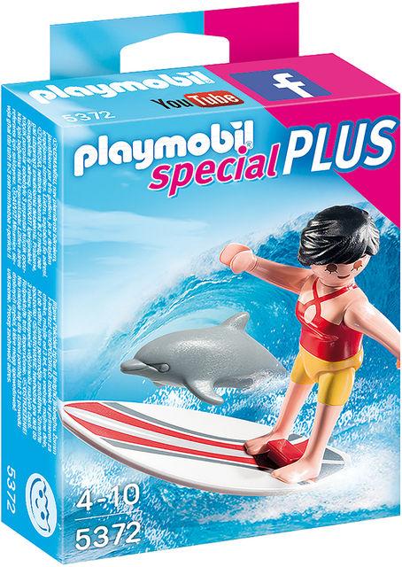 Surfer cu placa lui de surf playmobil