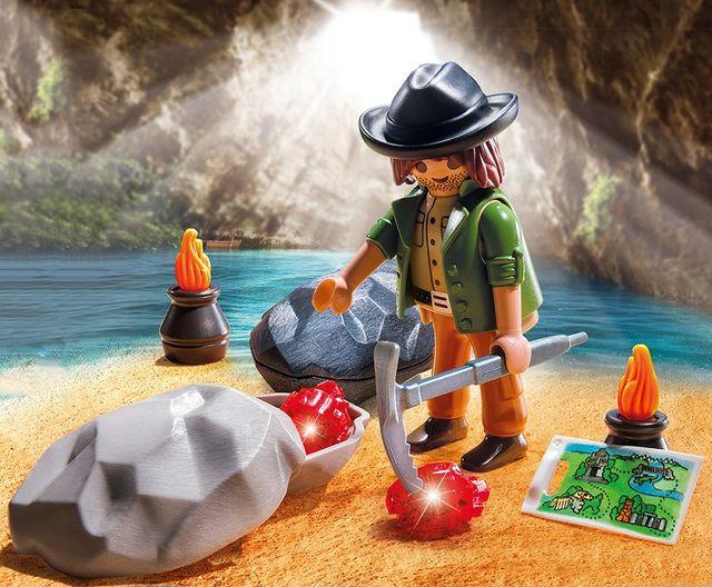 Vanatorul de bijuterii playmobil - 1
