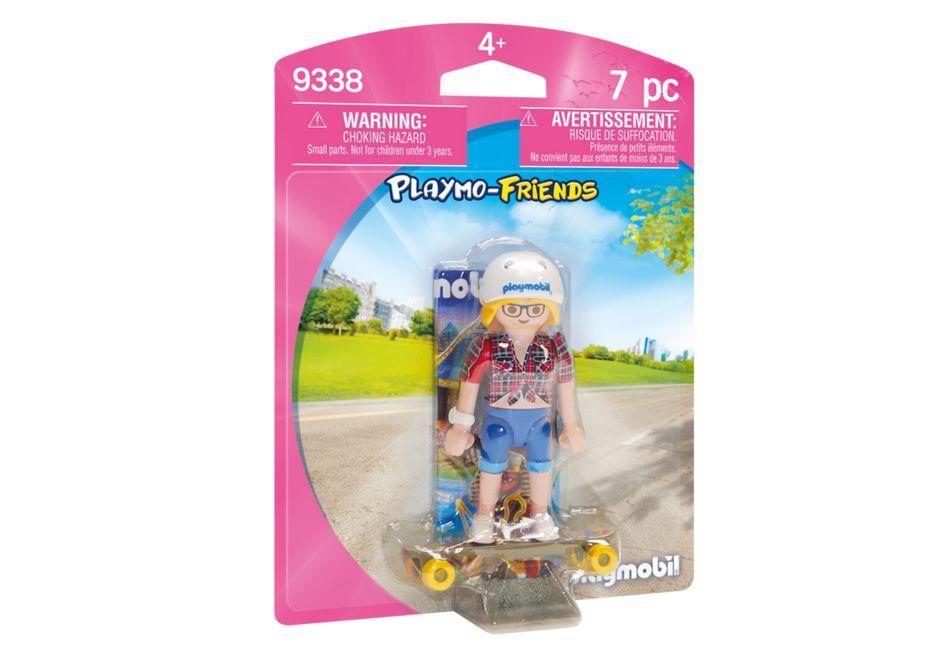 Figurina skateboarder playmobil imagine