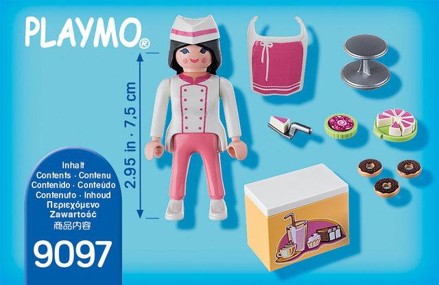 Figurina cofetar playmobil - 2