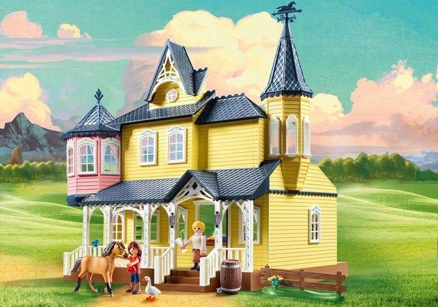Casa lui lucky playmobil spirit - 1