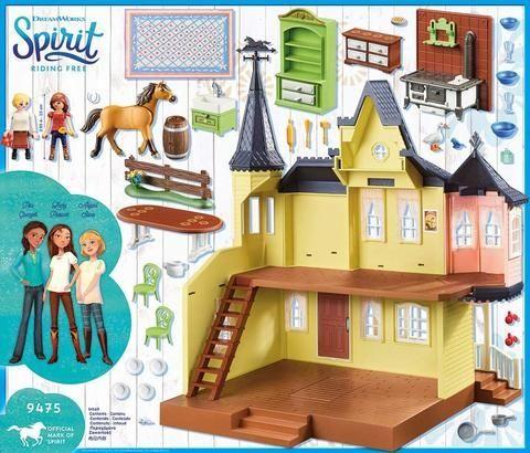 Casa lui lucky playmobil spirit - 2