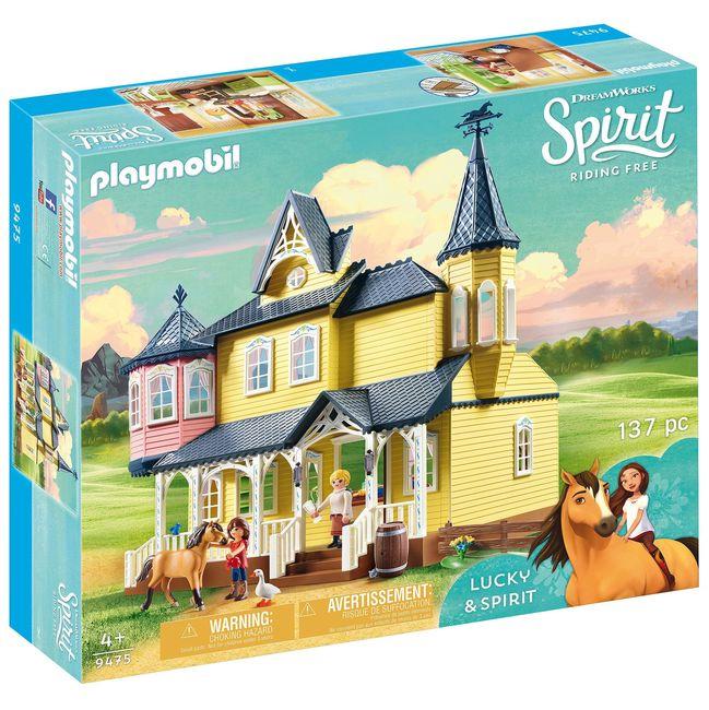 Casa lui lucky playmobil spirit