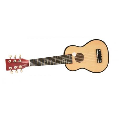 Chitara jucarie muzicala din lemn egmont toys imagine