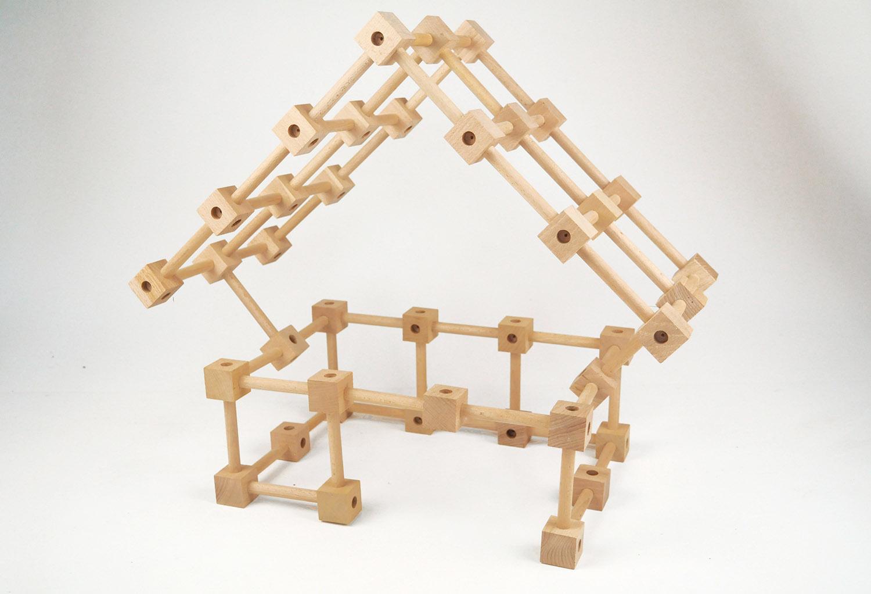 Joc de constructie de lemn koobi start imagine