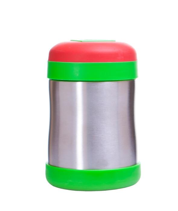 Recipient termic alimentar rosu verde 400ml imagine