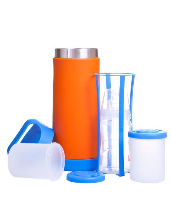 Termos bebe bauturi si alimente portocaliu 500 ml imagine