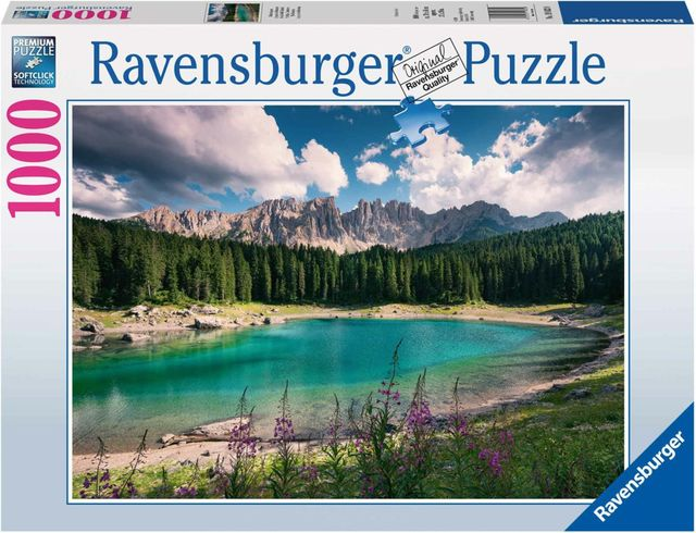 Puzzle adulti si copii dolomitii 1000 piese ravensburger imagine
